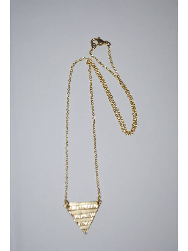 Kemi Designs Pyramid Scheme Necklace