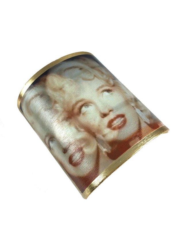 MizDragonfly Marilyn Monroe Cuff Disco