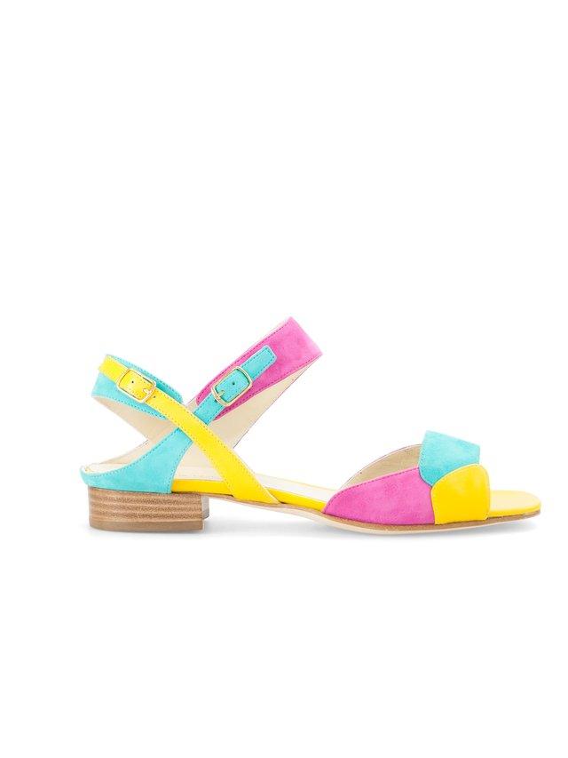 Aksha Fernandez Madagascar Kaleido Sandals