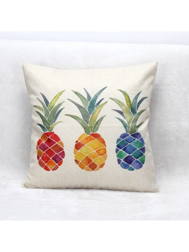 Arcade Attire Pineapple Tropical Cushion Cover