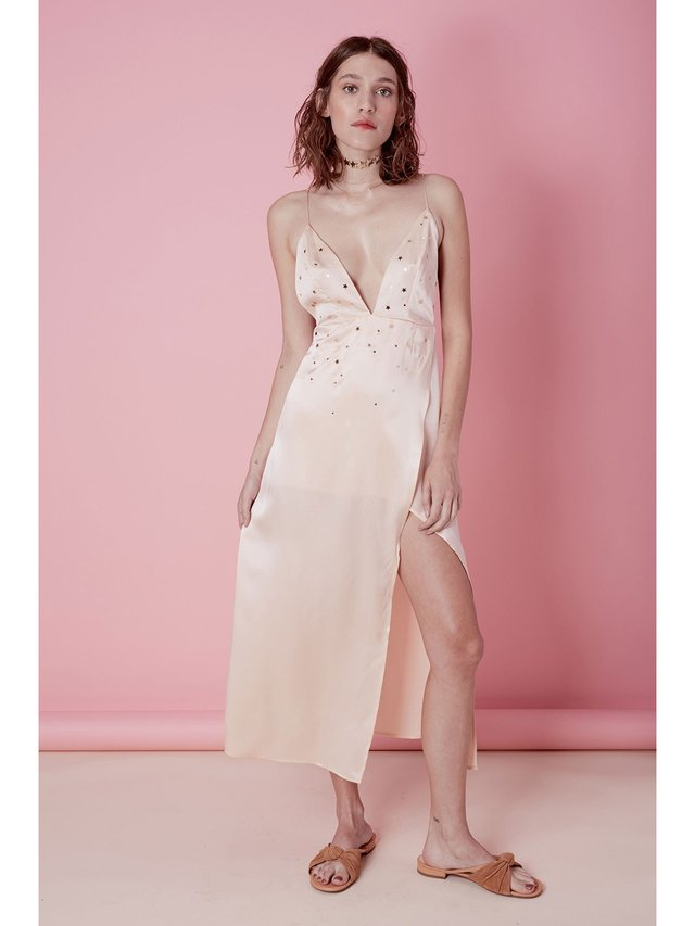 For Love & Lemons Twinkle Midi Dress