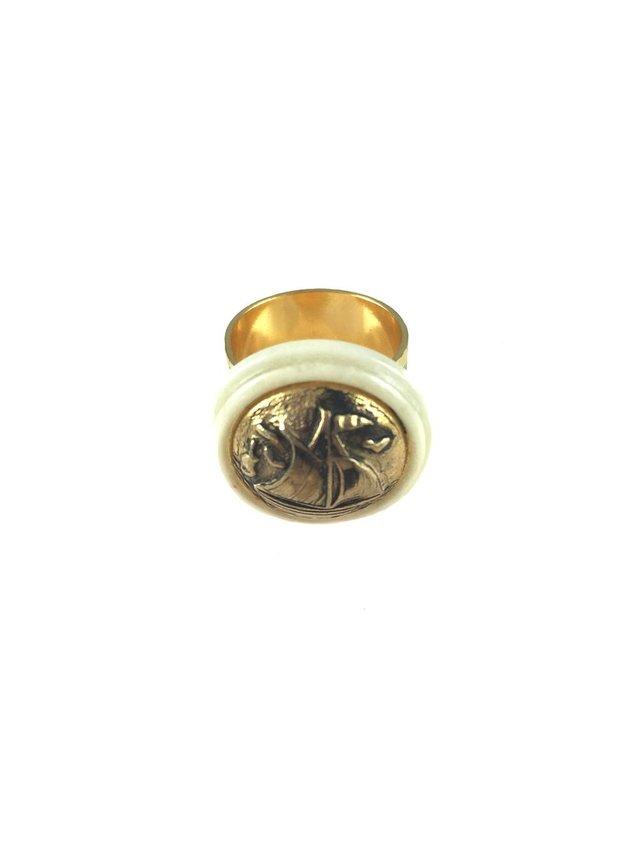 MizDragonfly Santa Maria Ring