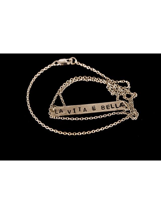 Kemi Designs Life is Beautiful Necklace