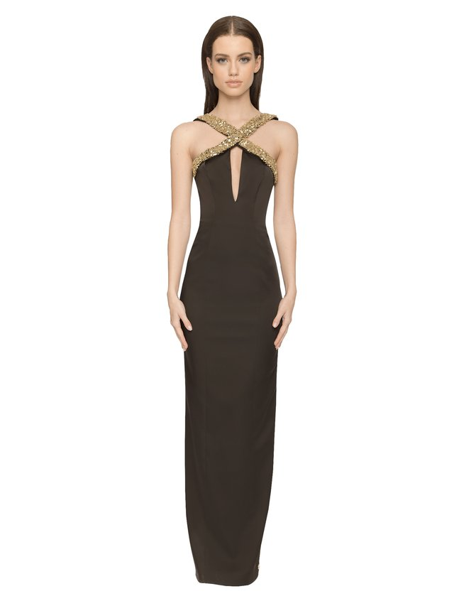 Aloura London Estelle Gown - Black