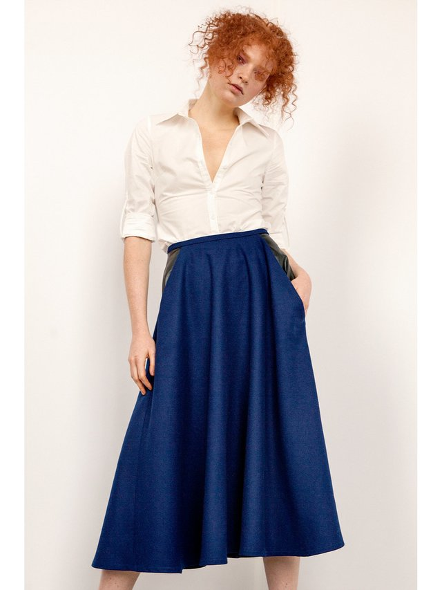 Hilary MacMillan Midi Skirt