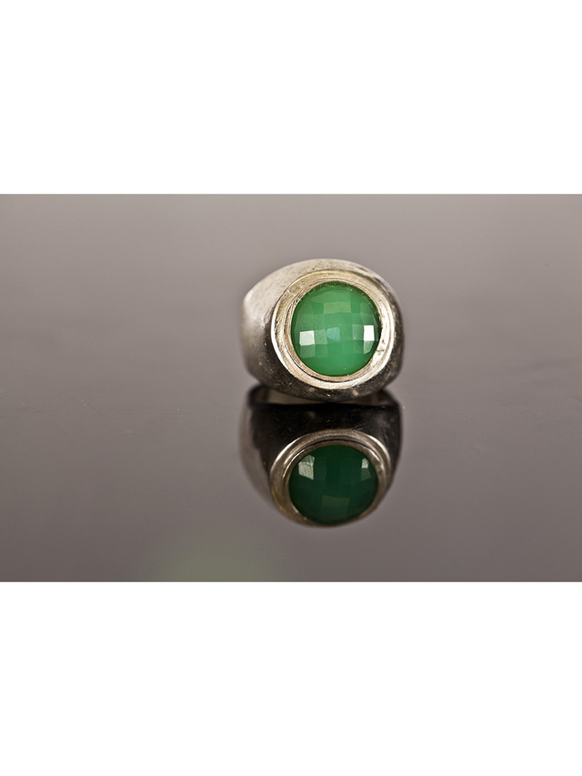 Kemi Designs Stone Cold Green Ring