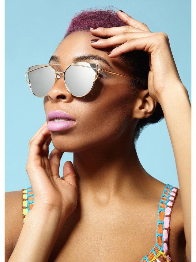 COCONAUTICAL Touché - Silver Reflective Sunglasses