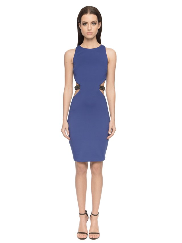 Aloura London Alexis Dress - Royal Blue