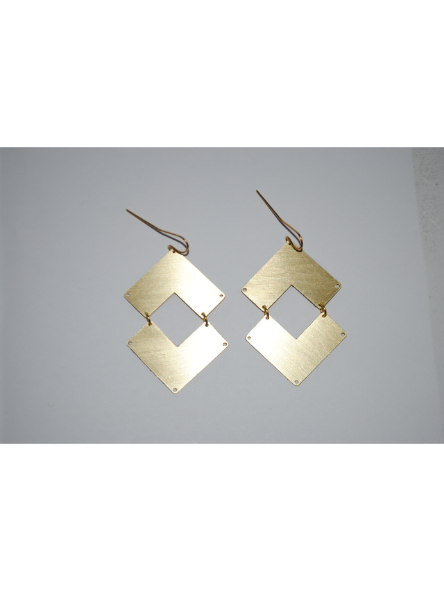 Kemi Designs Chev-wrong Earrings