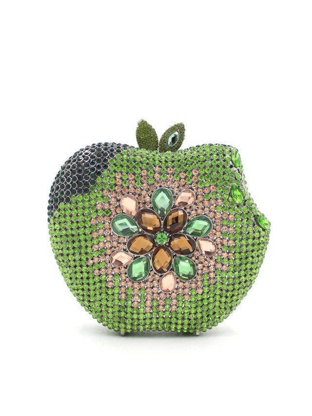 Milanblocks Green Apple Minaudiere