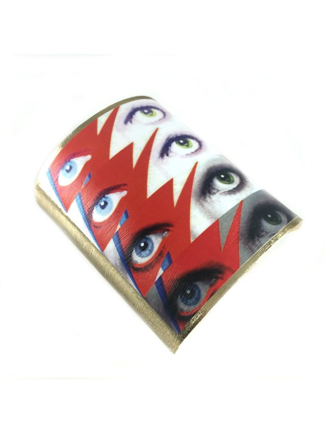 MizDragonfly David Bowie Cuff Rock Star