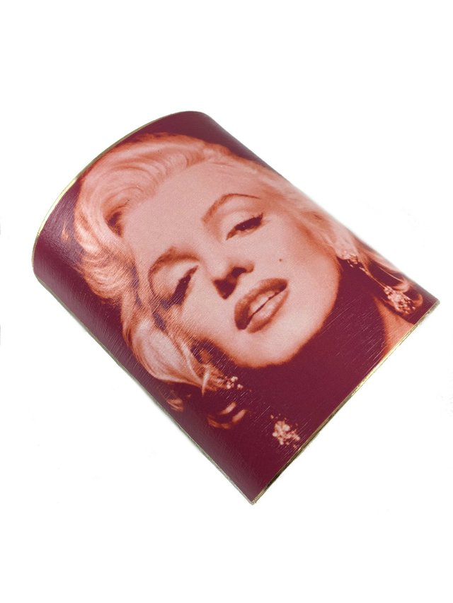 MizDragonfly Marilyn Monroe Cuff Red