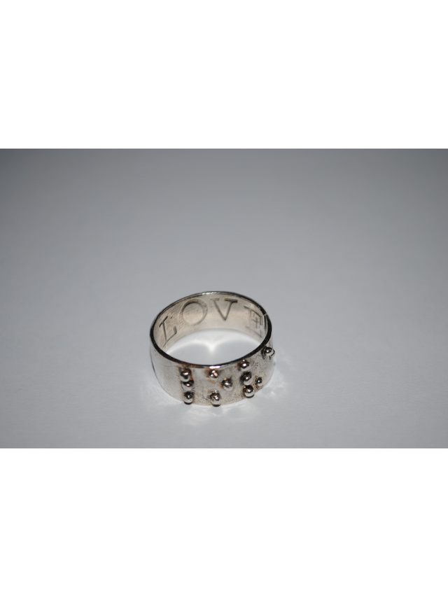 Kemi Designs Love is Blind Ring