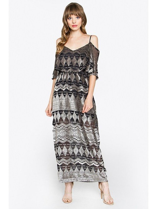 Arcade Attire Michelle Maxi Dress