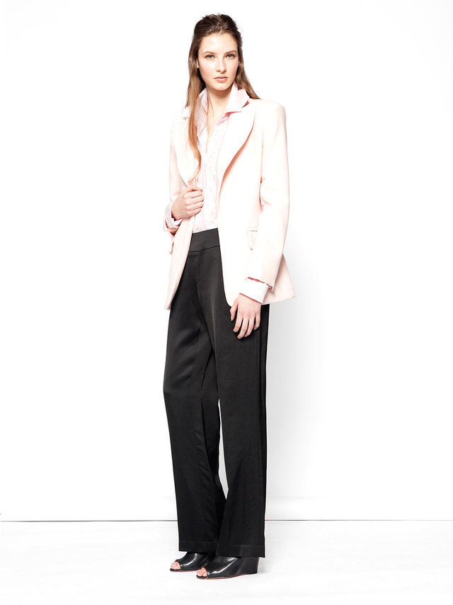 Hilary MacMillan Pale Pink Blazer