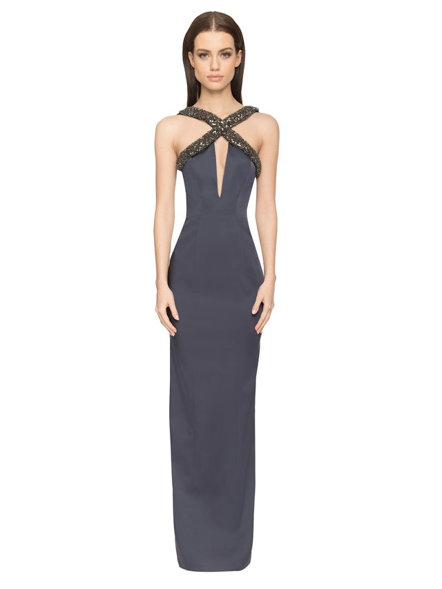 Aloura London Estelle Gown - Navy