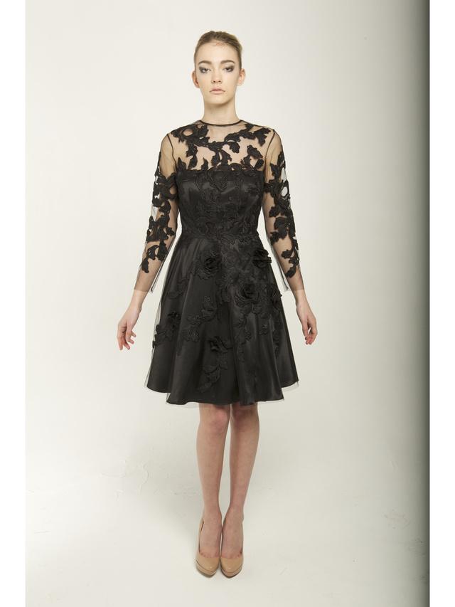 Narces Floral 3D Dress