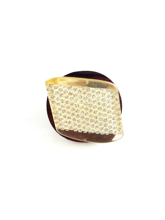 MizDragonfly Tilt Ring Gold