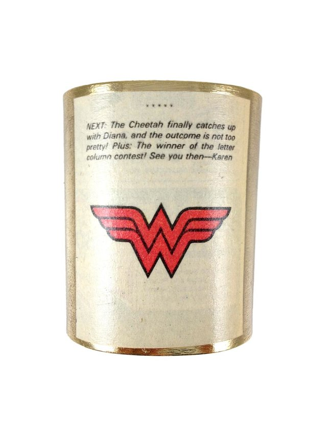 MizDragonfly Wonder Woman Cuff Sequel