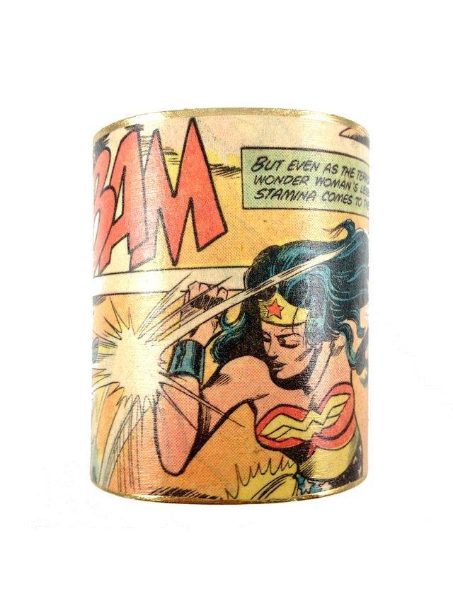 MizDragonfly Wonder Woman Cuff Bam