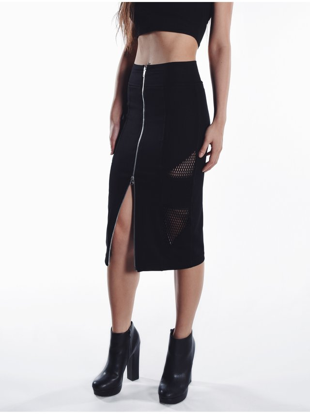 Cara Cheung Ariel Pencil Skirt - Mesh