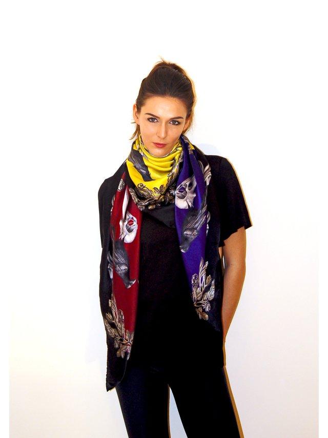 EMILIA MALA MERLETTA – Silk Scarf