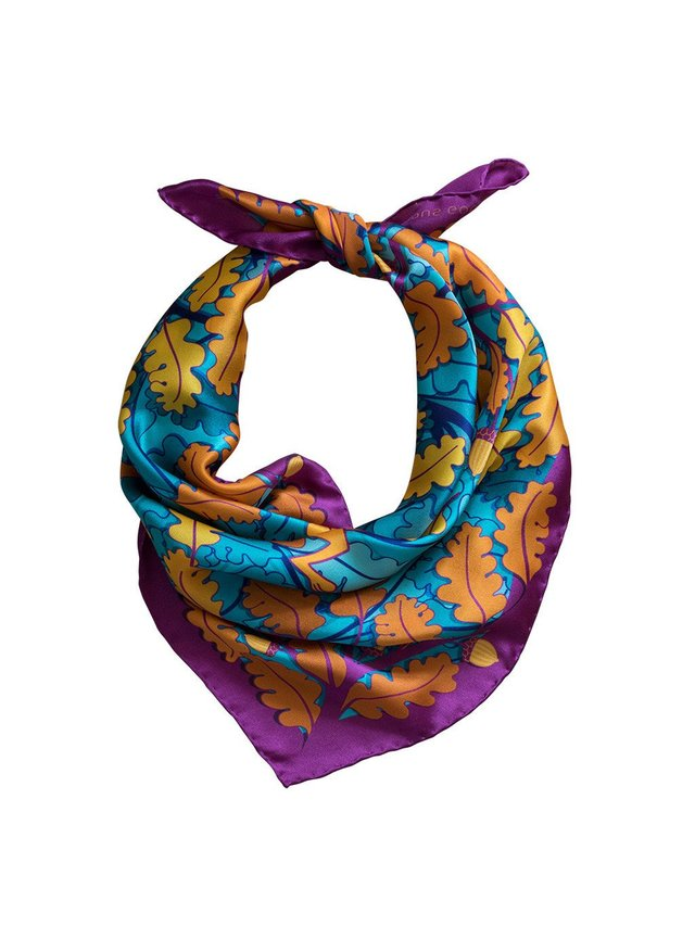 Furious Goose Trio of Hares – Sunset, Midi Scarf
