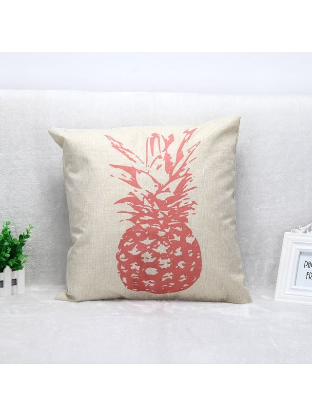 Arcade Attire Pineapple Blend Cushion Cover