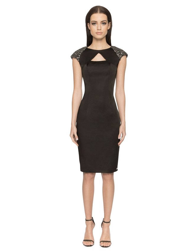 Aloura London Arlington Dress - Black