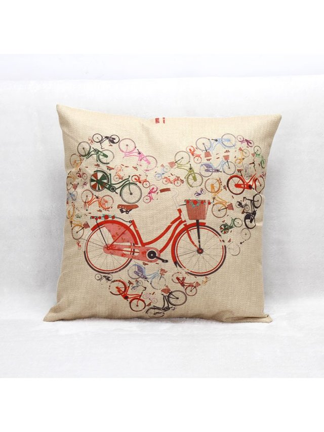 Arcade Attire Love Ride Cushion Cover