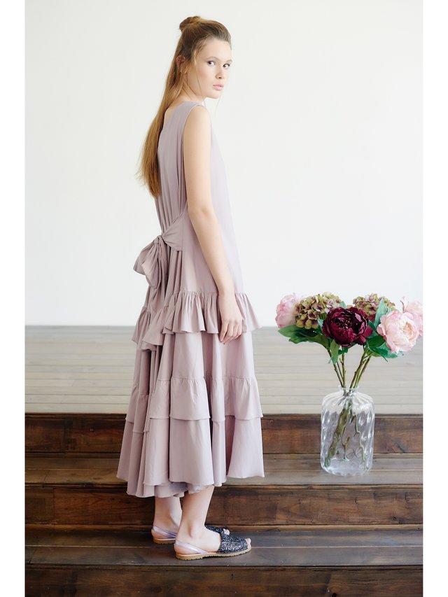 HB By Hanna Varanava Ruffle Tier Dress
