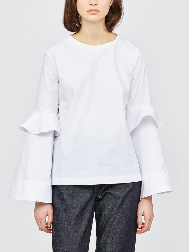 Hilary MacMillan Exaggerated Sleeve Top