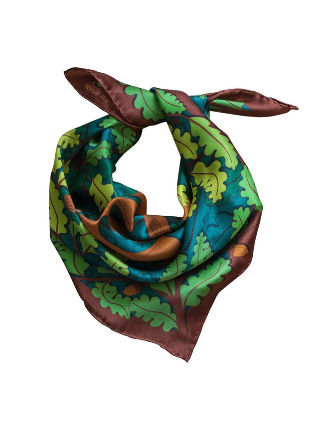 Furious Goose Trio of Hares – Day, Midi Scarf