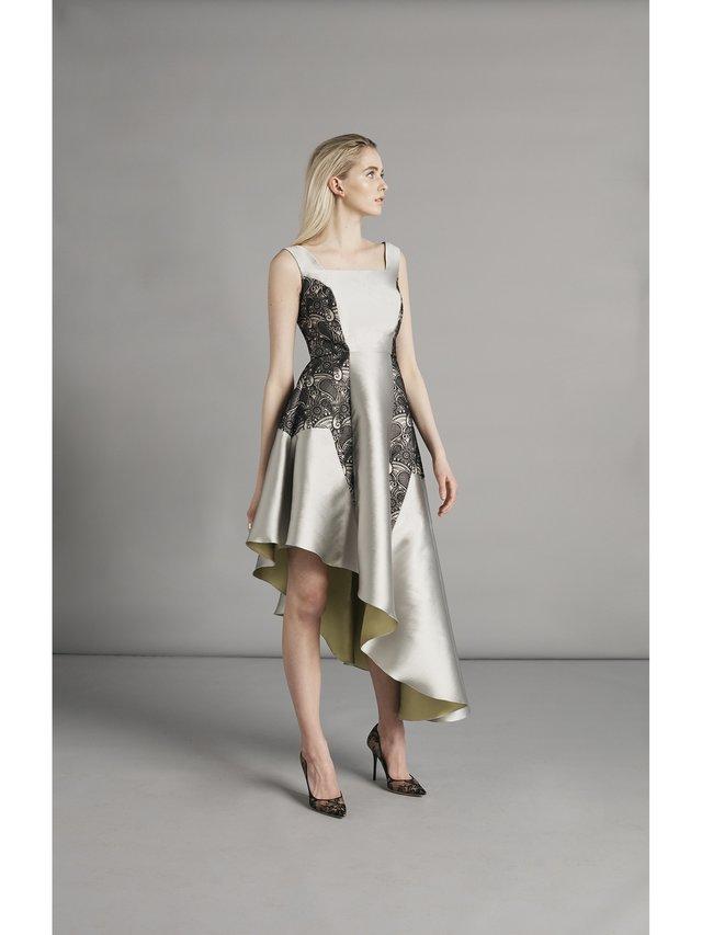 SARAH BOND Vaugoin Asymmetric Dress