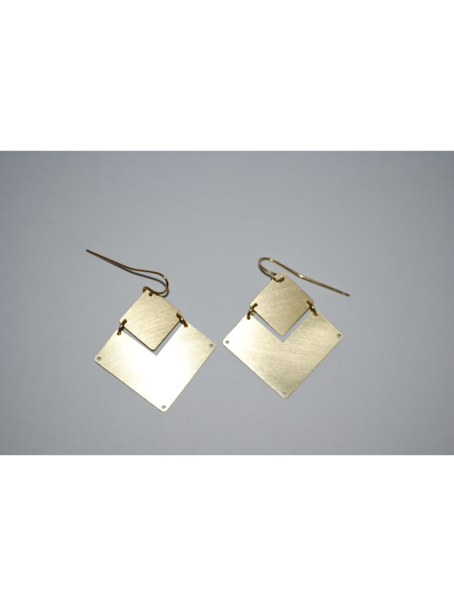 Kemi Designs Double Down Earrings
