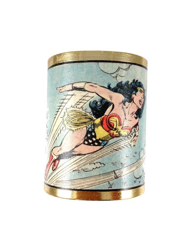 MizDragonfly Wonder Woman Cuff Sky
