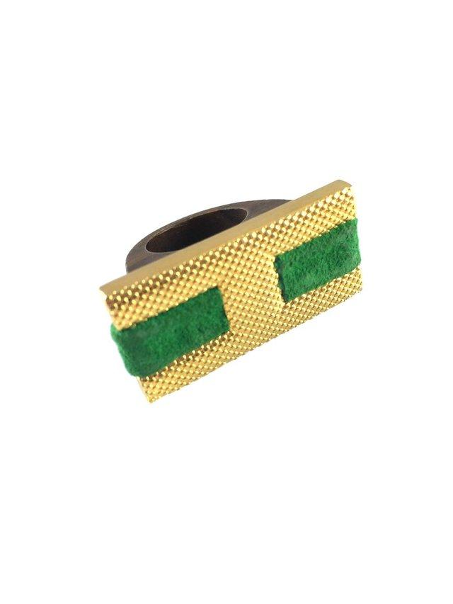 MizDragonfly Herrara Ring Green