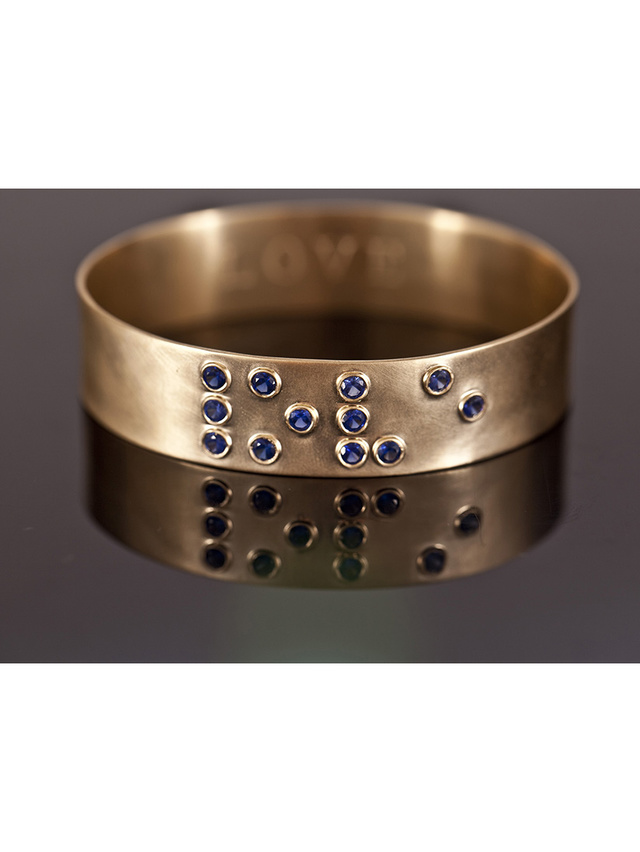 Kemi Designs Love is Blind Sapphire Bracelet