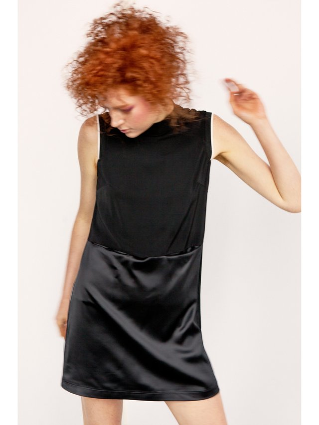 Hilary MacMillan Turtleneck Sport Dress