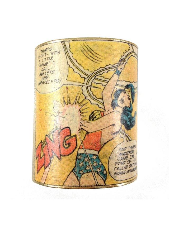 MizDragonfly Wonder Woman Cuff Zing