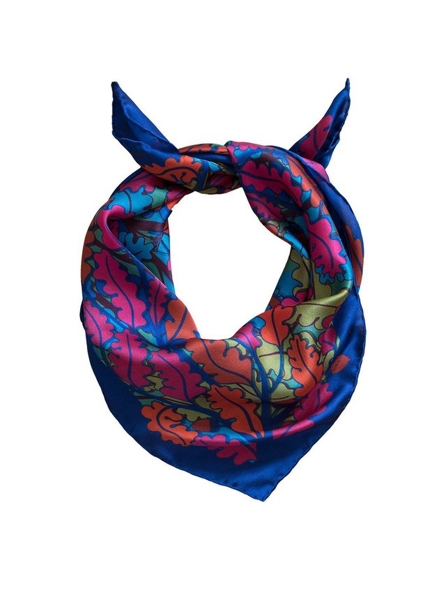 Furious Goose Trio of Hares – Night, Midi Scarf