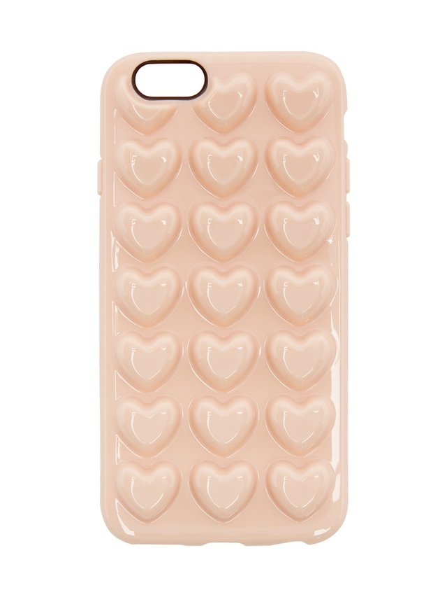 Marc Jacobs Pink Jelly Heart iPhone 6 Case