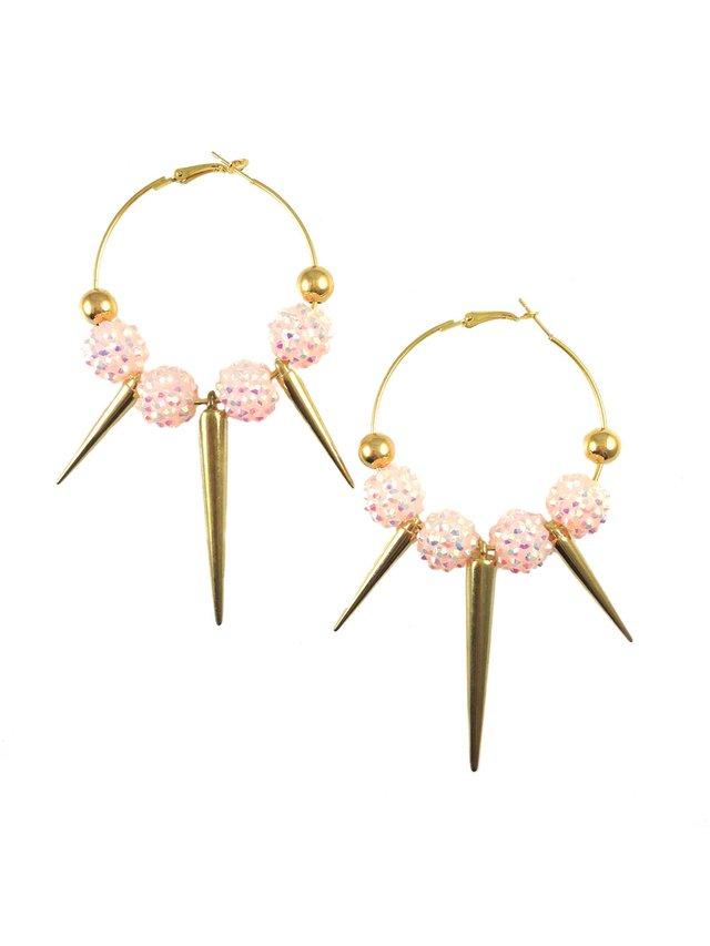 MizDragonfly Farrah Spikes Pink & Gold