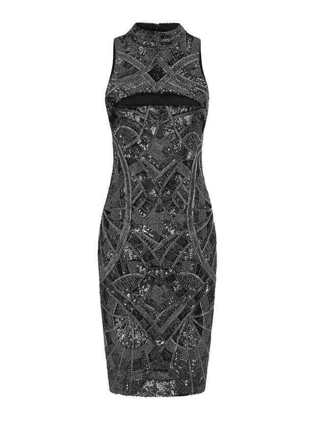 Aloura London Madison Dress - Graphite
