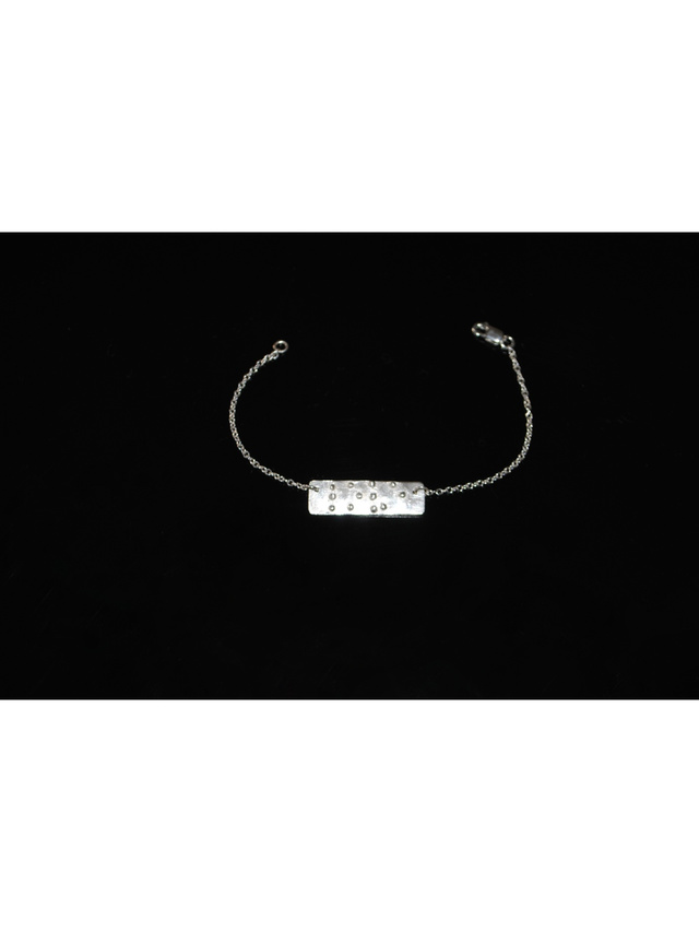 kemi Designs Love Is Blind Braille Bracelet
