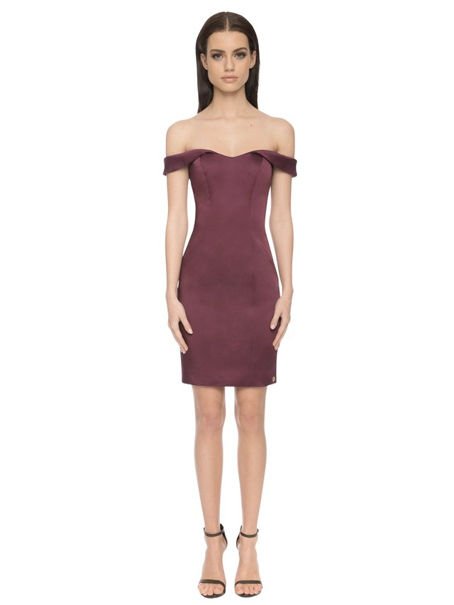 Aloura London Acacia Dress - Berry