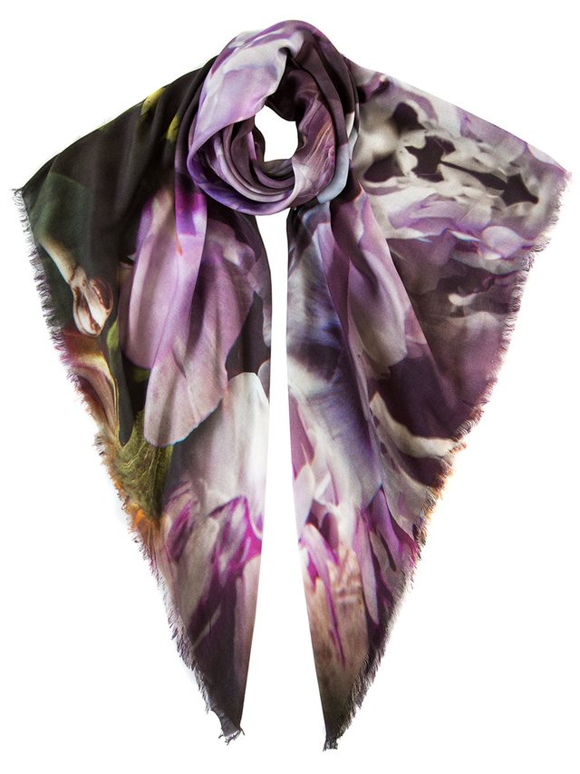 Ternary London DARK PARADISE LUXURY CASHMERE SCARF