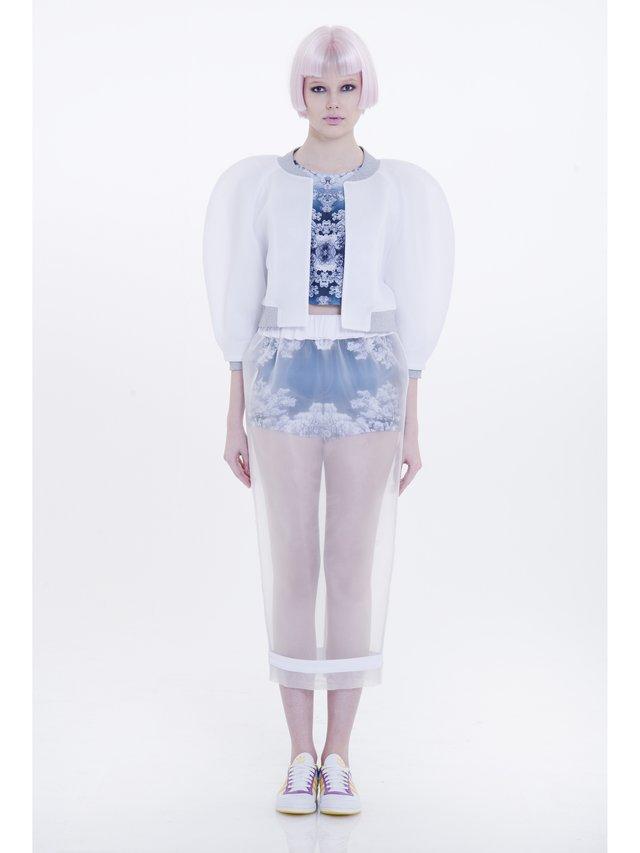 Ece Ozalp No:5 – Transparent Dream Skirt
