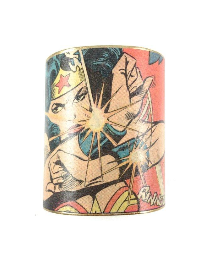 MizDragonfly Wonder Woman Cuff Pow