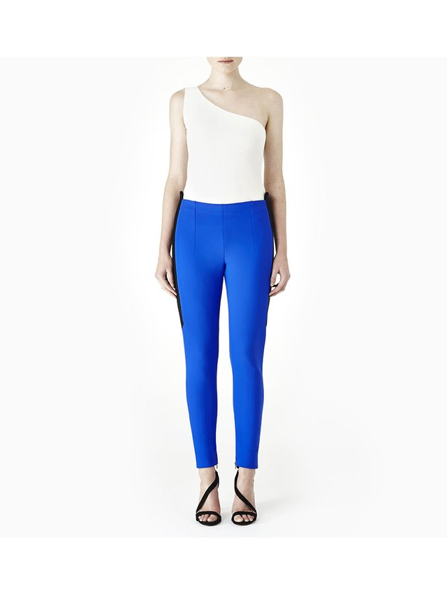 Sarah Bond Power Racer Trousers Blue Black